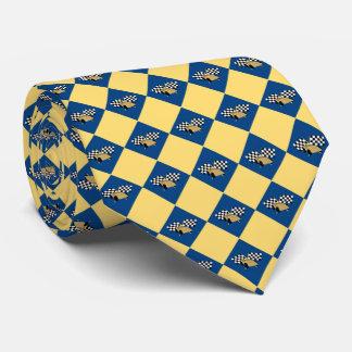 Checkered Derby Tie