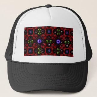 Checkered design Kaleidoscope Trucker Hat