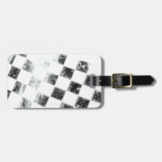 Checkered Flag Bag Tag