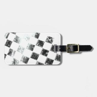 Checkered Flag Bag Tag