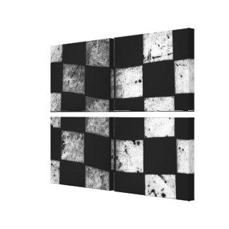 Checkered Flag Canvas Print