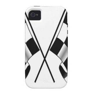 checkered flag vibe iPhone 4 cases