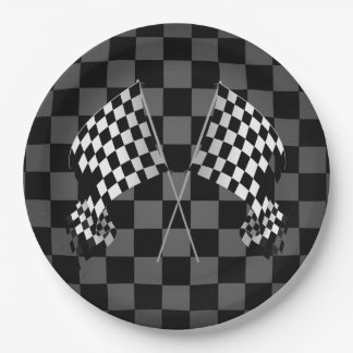 checkered flag paper napkins Keep your guests coming back for seconds with the use of the black and white check paper plates a race day symbol, the start/finish checkered flag highlights these.