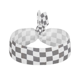 Checkered Flag Hair Tie