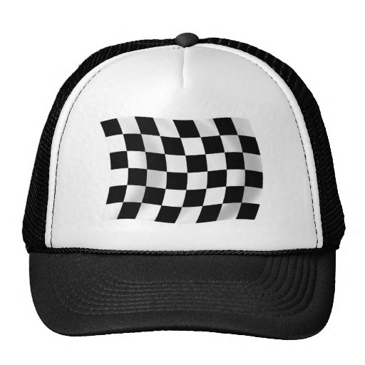 Checkered Flag Hat