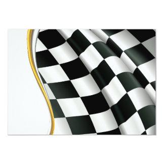 Checkered Flag Invitations