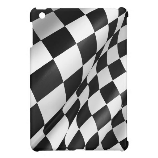 Checkered Flag iPad Mini Glossy Finish Case iPad Mini Case