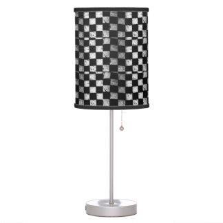 Checkered Flag Lamp