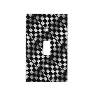 Checkered Flag Light Switch Cover