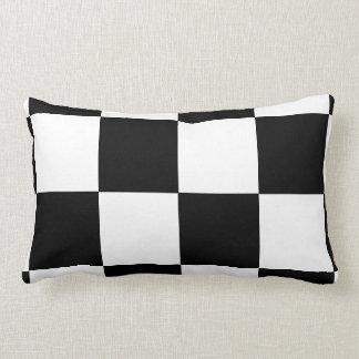 Checkered Flag Lumbar Pillow