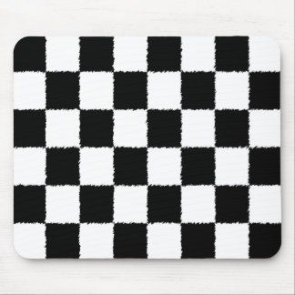 Checkered Flag Mouse Pad