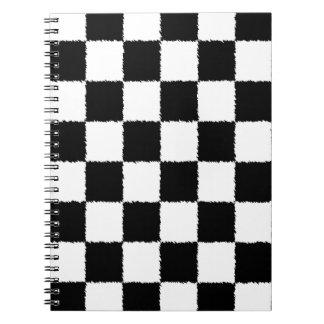 Checkered Flag Notebook