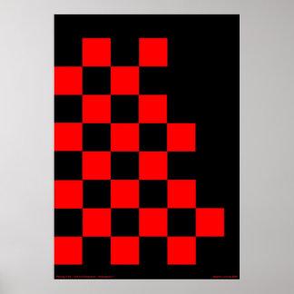 Checkered Flag Poster