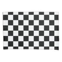 Checkered Flag Race Winner Pattern Pillowcase