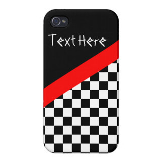 Checkered Flag Racing iPhone Case