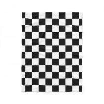 Checkered Flag Racing Pattern Fleece Blanket