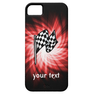 Checkered Flag; red iPhone SE/5/5s Case