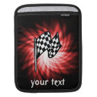Checkered Flag; red Sleeve For iPads