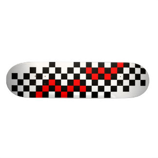 Checkered Flag Skate Decks