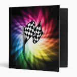 Checkered Flag Spectrum 3 Ring Binder