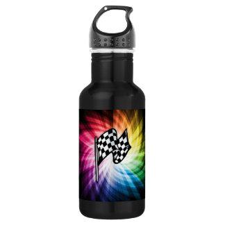 Checkered Flag Spectrum Water Bottle