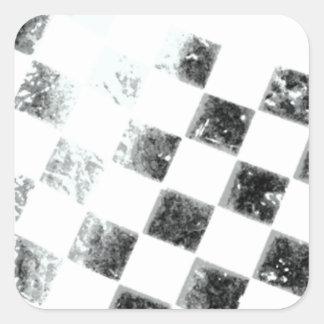 Checkered Flag Square Sticker
