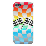 checkered flags iPhone 5 cases