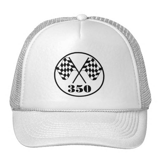 Checkered Flags Mesh Hat