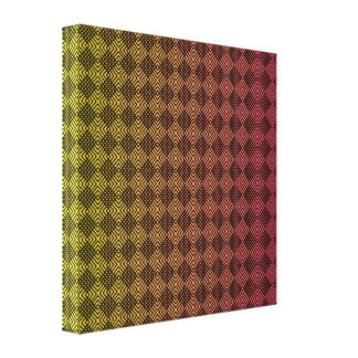 Checkered Gradients Canvas Print