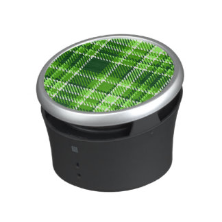 Checkered Green Color Pattern Speaker
