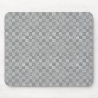 Checkered Grunge Mouse Pad