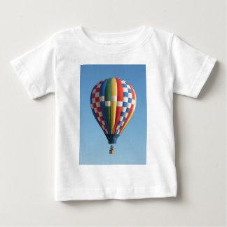 Checkered Hot Air Balloon New Mexico Baby T-Shirt
