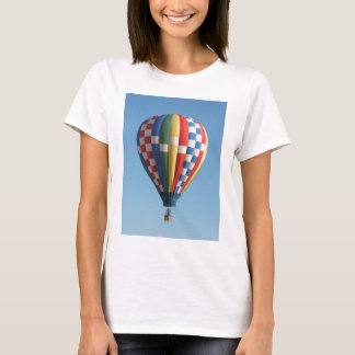 Checkered Hot Air Balloon New Mexico T-Shirt