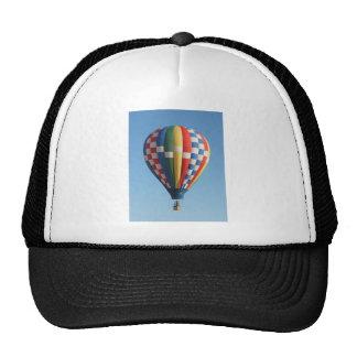 Checkered Hot Air Balloon New Mexico Trucker Hat