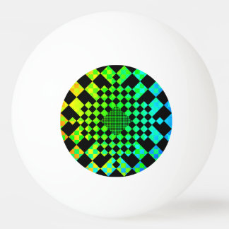 Checkered Illusion by Kenneth Yoncich Ping-Pong Ball
