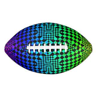 Checkered Illusion Football