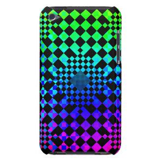 Checkered Illusion iPod Case-Mate Case