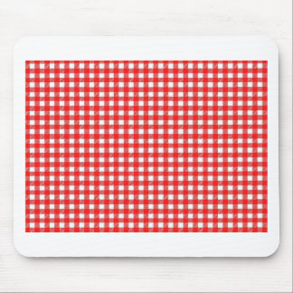 Checkered Image Mouse Pad