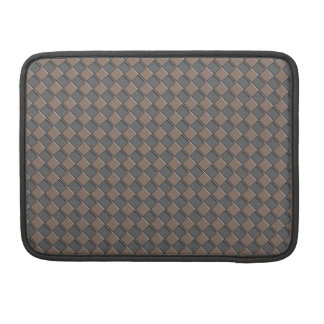 Checkered Leather MacBook Pro Sleeves