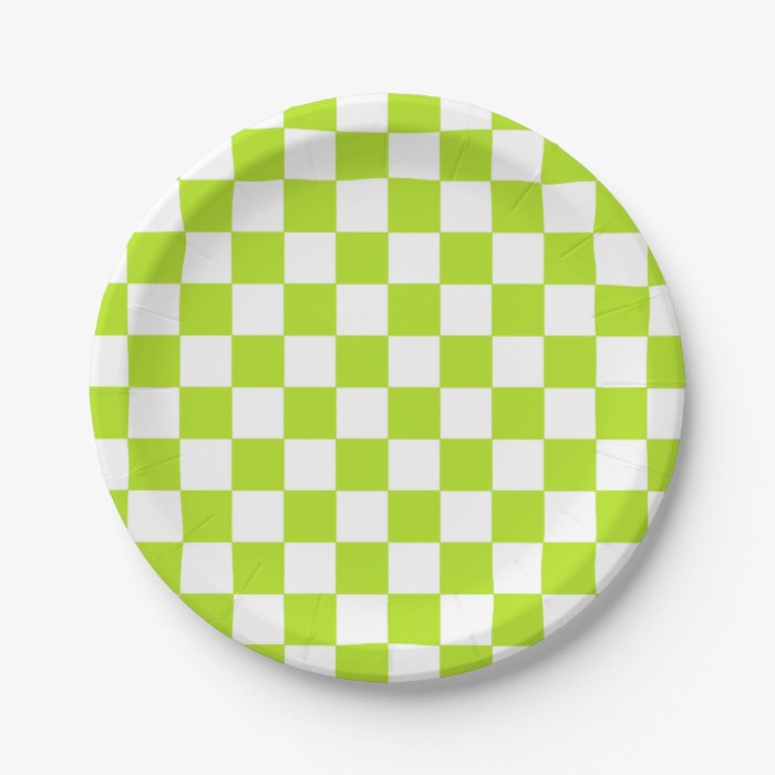 Lime Green Cake Plate