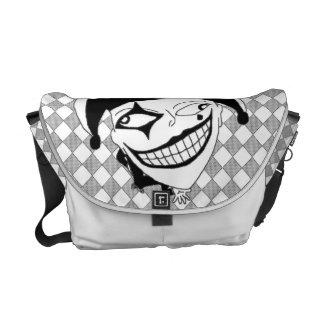Checkered MTJ Courier Bag