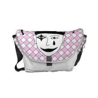 Checkered MTJ Small Messenger Bag