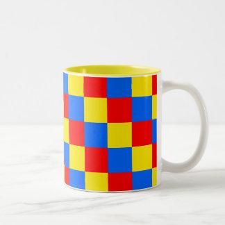 Checkered Mug