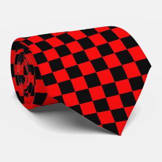 checkered. neck tie