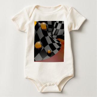 Checkered Past  2 Baby Bodysuit