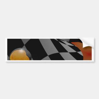 Checkered Past  2 Bumper Sticker