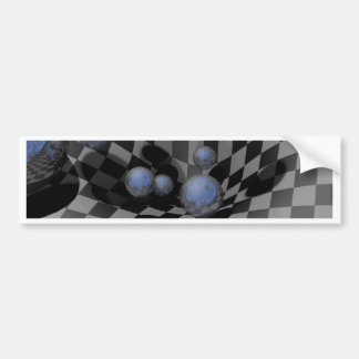 Checkered Past #A Bumper Sticker