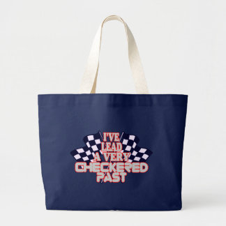Checkered Past Large Tote Bag