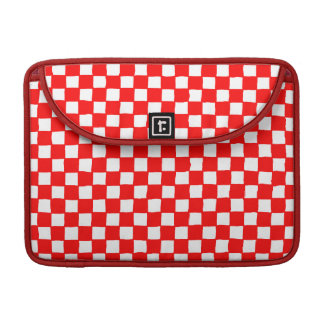 checkered pattern (red) sleeves for MacBook pro