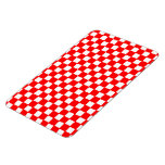 checkered pattern (red) Magnet